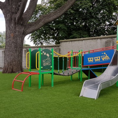 <p>Wee Care Creche Monkstown Play Area</p>