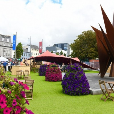 <p>Eyre Square @ the Galway International Arts festival</p>