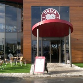 Artificial Grass Store at the New Costa Coffee